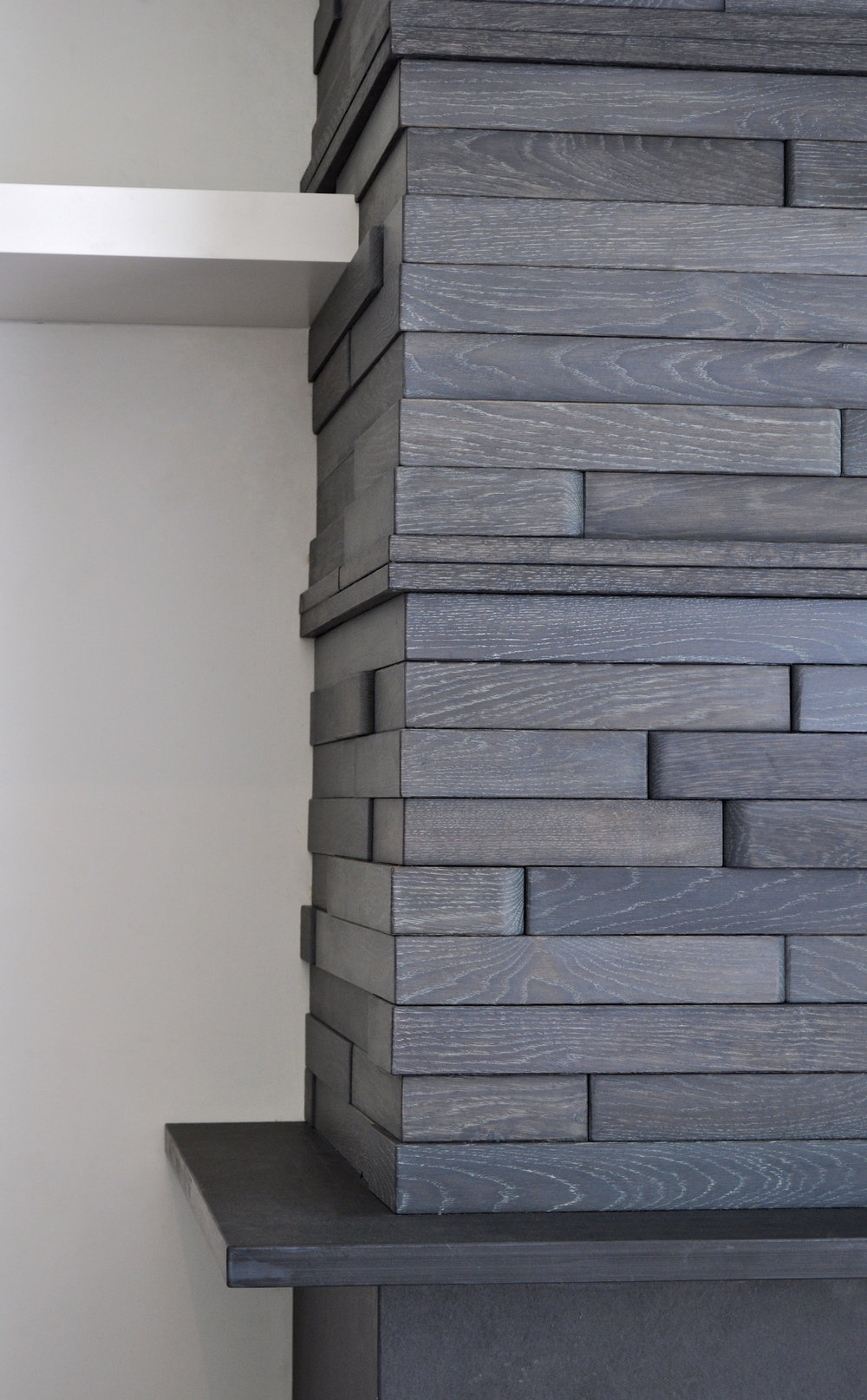 Wood Block Wall Wood Block Wall  Perpetua Wood Floors