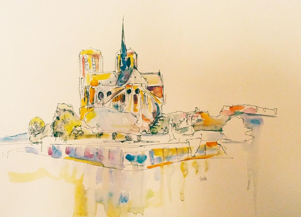 Notre Dame's Ass