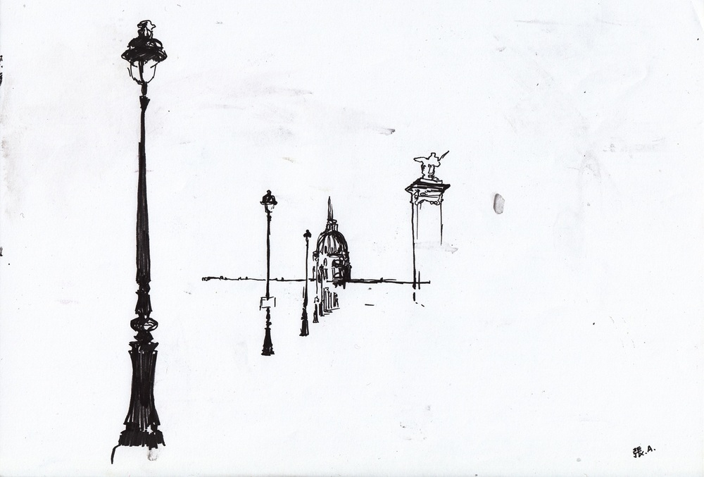 Invalides de Pont d'Alexandre III