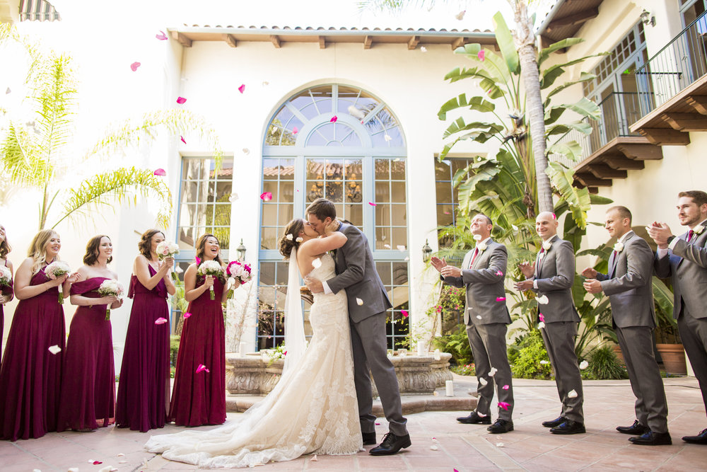 Bakersfield Country Club Bresson Wedding