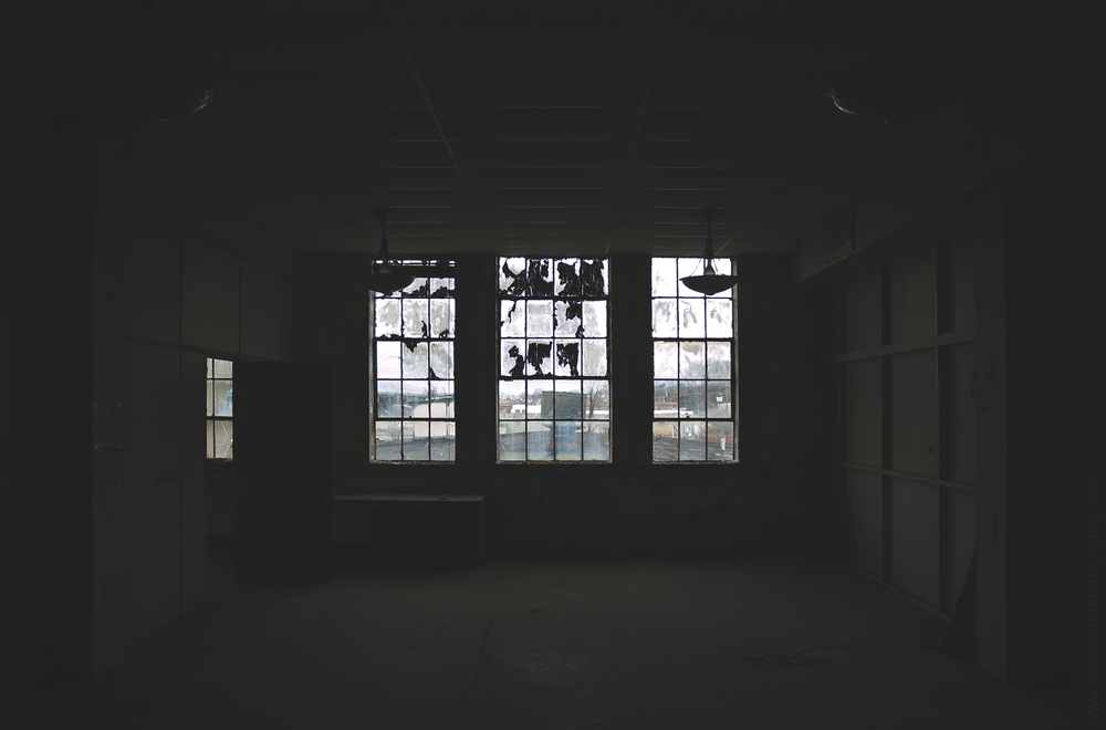 Abandoned Building Windows