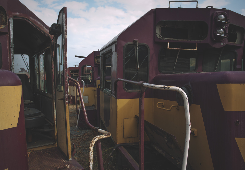 Train Engine Cabs