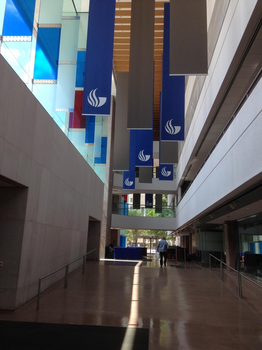 GSU Centennial Hall Atrium