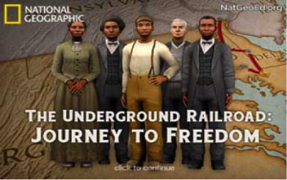 Student Choice Award Winner:   National Geographic - The Underground Railroad Journey to Freedom