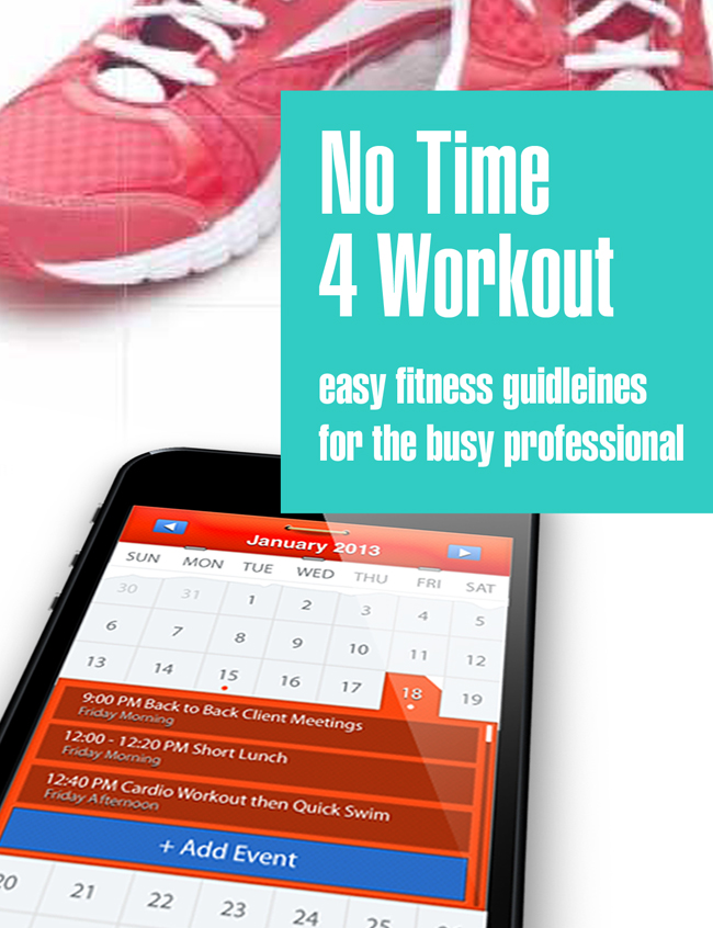 Are you struggling to find time to workout?  Well, this book will help you to implement strategies to get fit in No Time.