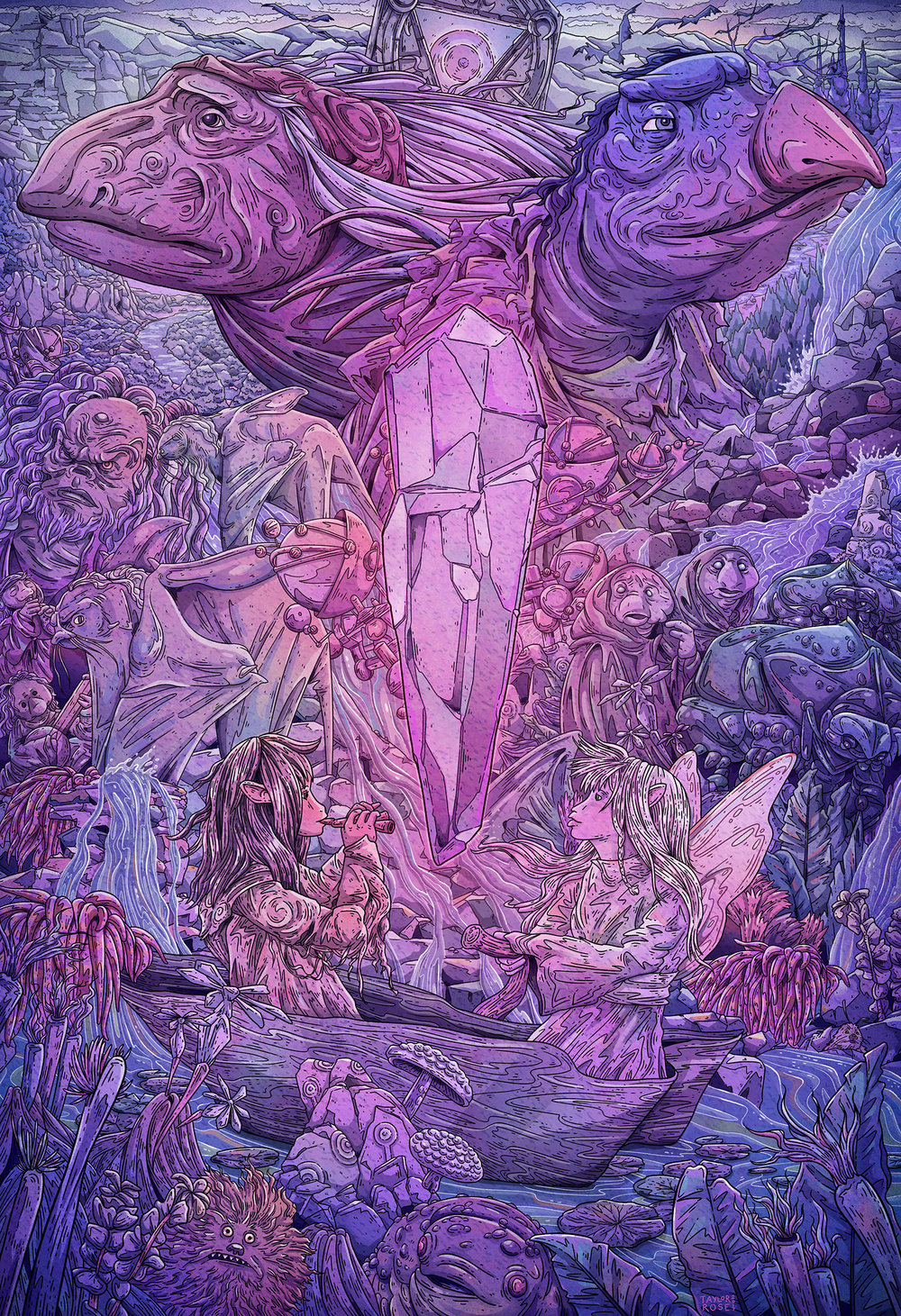 The Dark Crystal/exhibited at Gallery1988