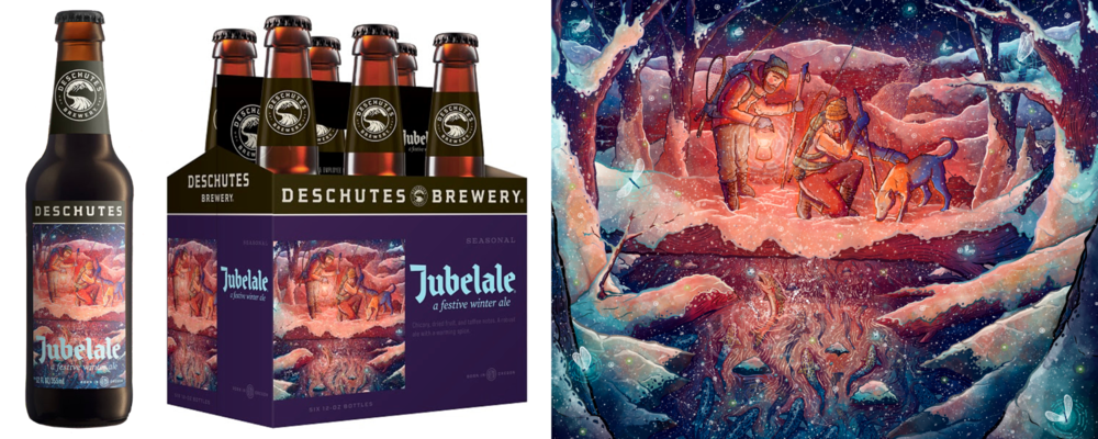 Deschutes Brewery/label art