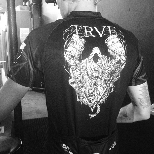 So our MTB team kits came in… (at TRVE Brewing Co.)