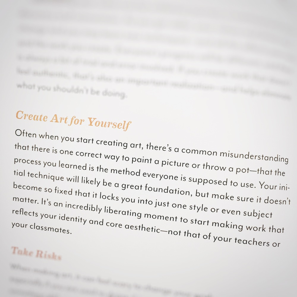 "Excerpt from ""Art Inc."" By Lisa Congdon"