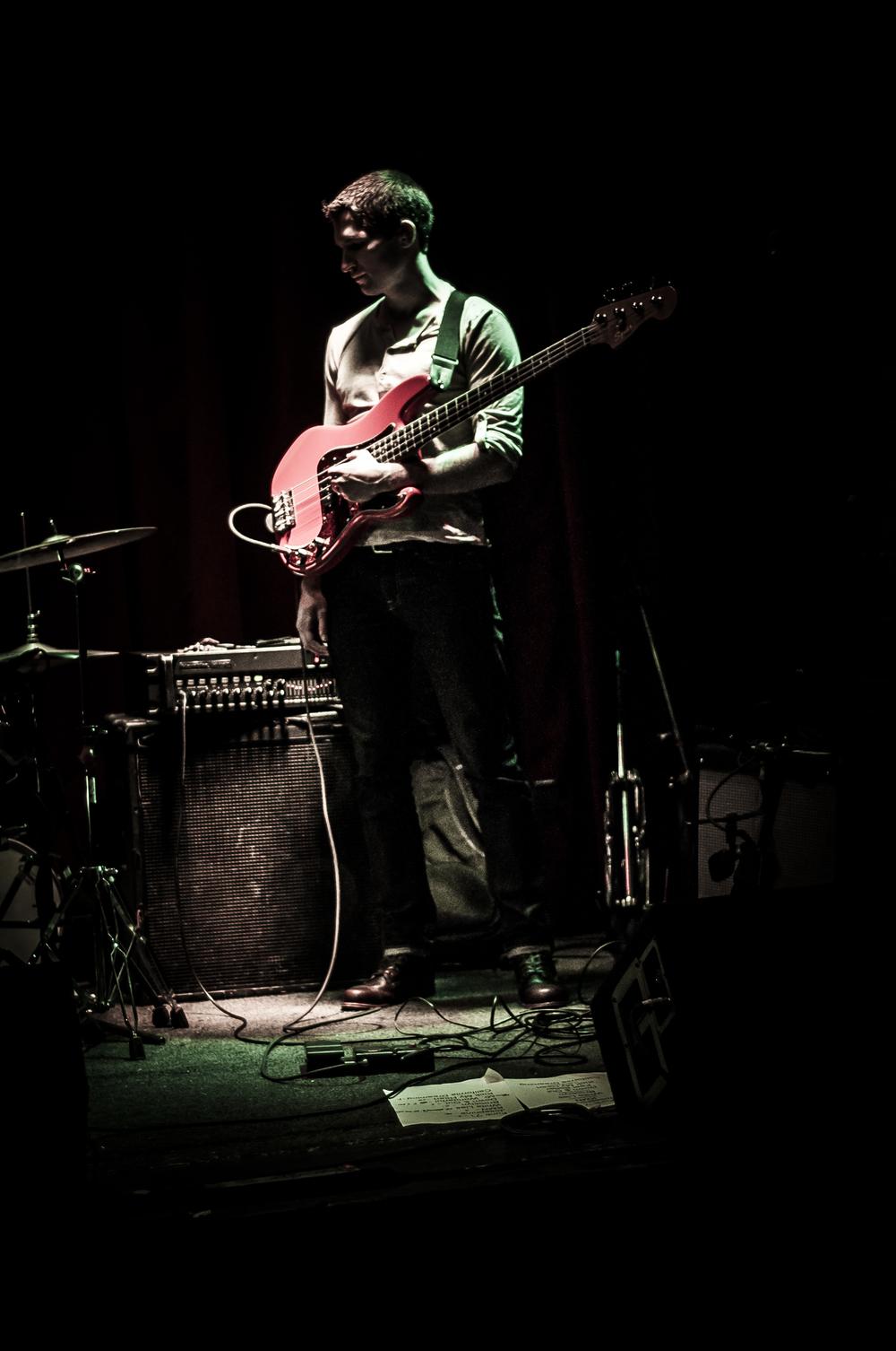 Spotlight the bassist
