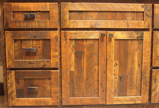Cabinetry revelations sustainable furnishings for Reclaimed wood furniture bend oregon