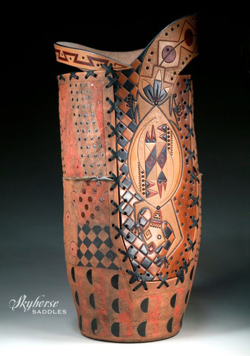 Earthskin Vessel    Click on a thumbnail below for a slideshow