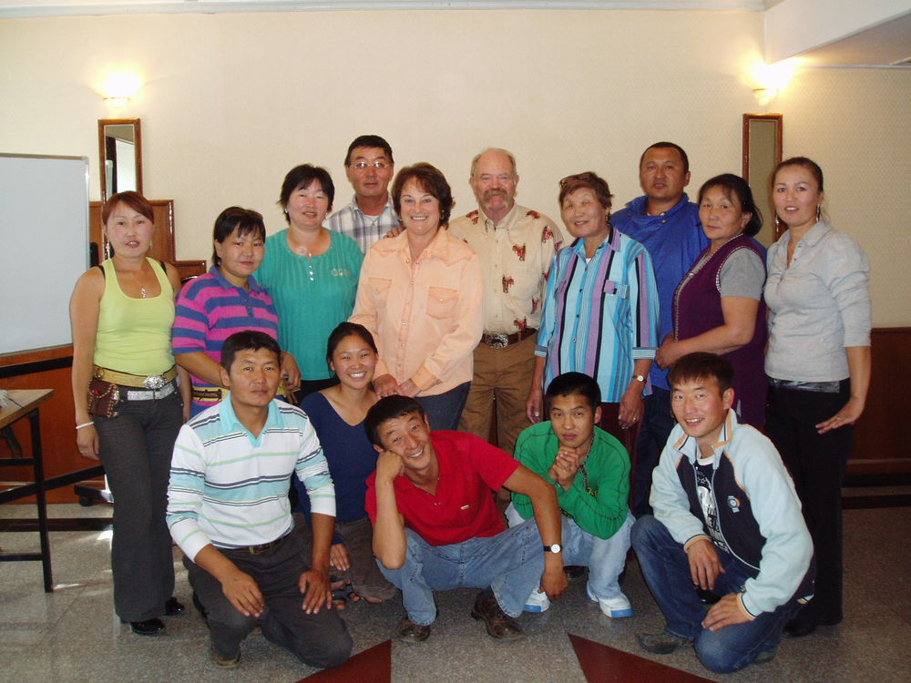 Our class in the capital of Mongolia, Ulaanbataar.