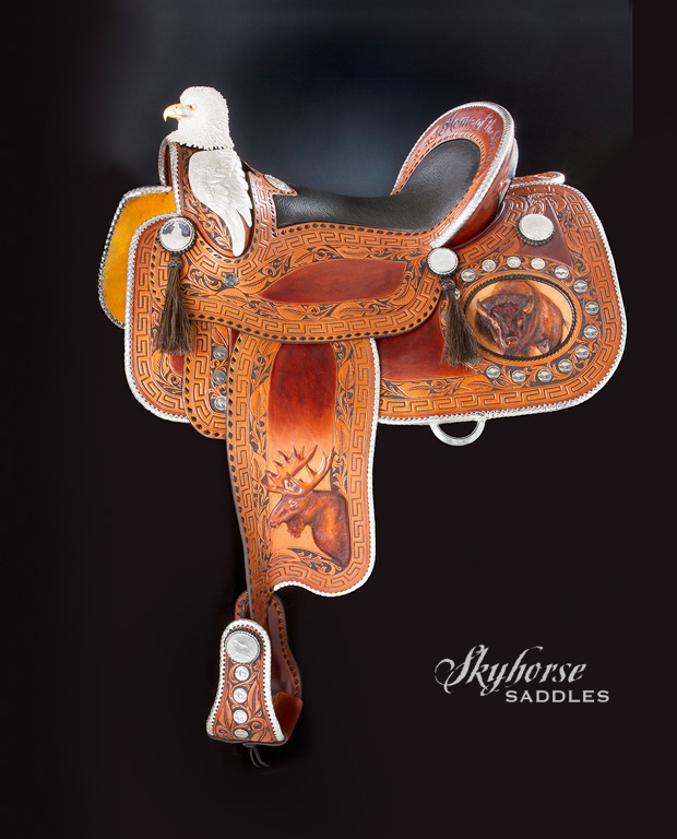The Patriot Saddle