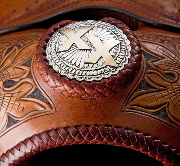Double XX Show Saddle