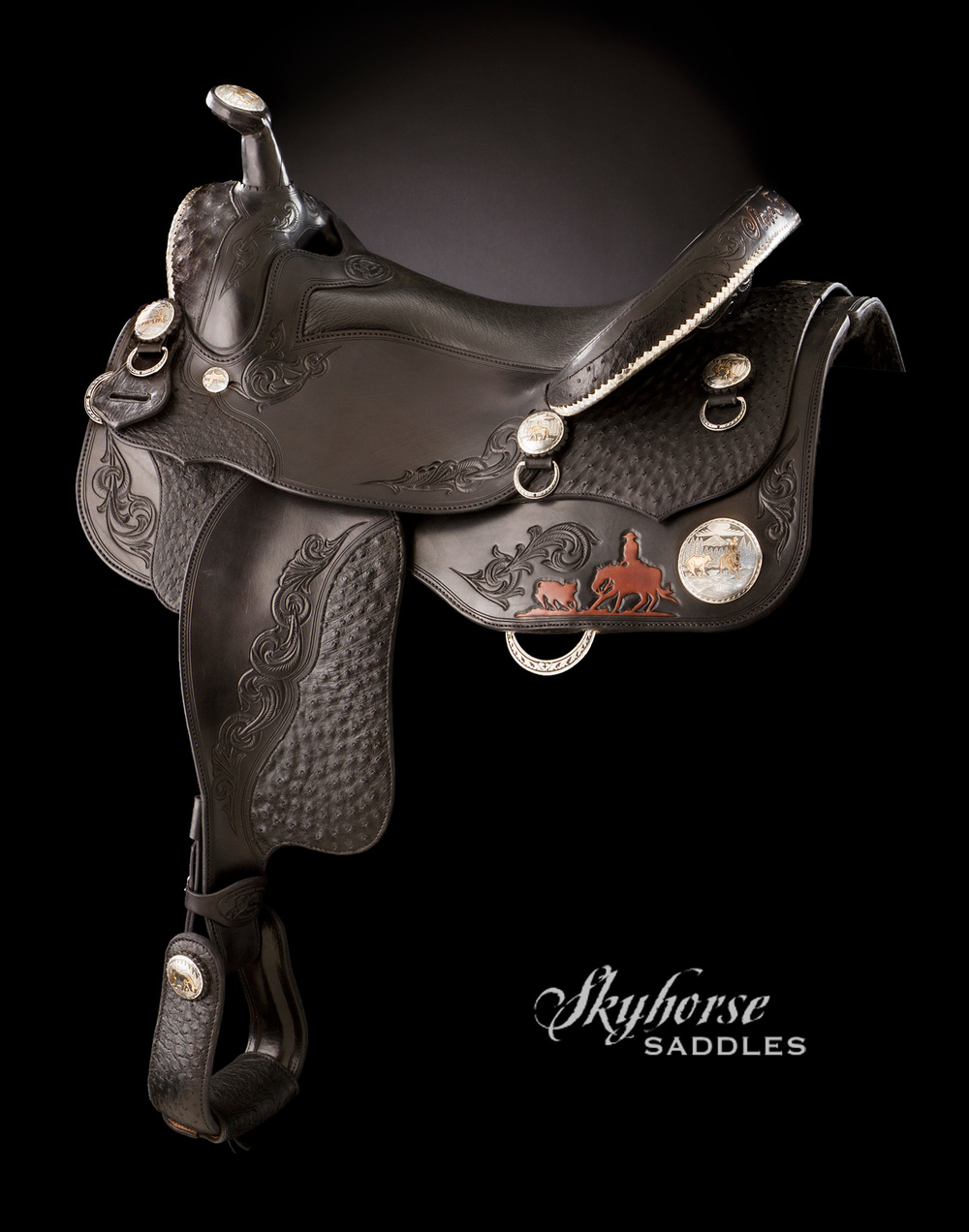 Deluxe Cutting Saddle Click to enlarge