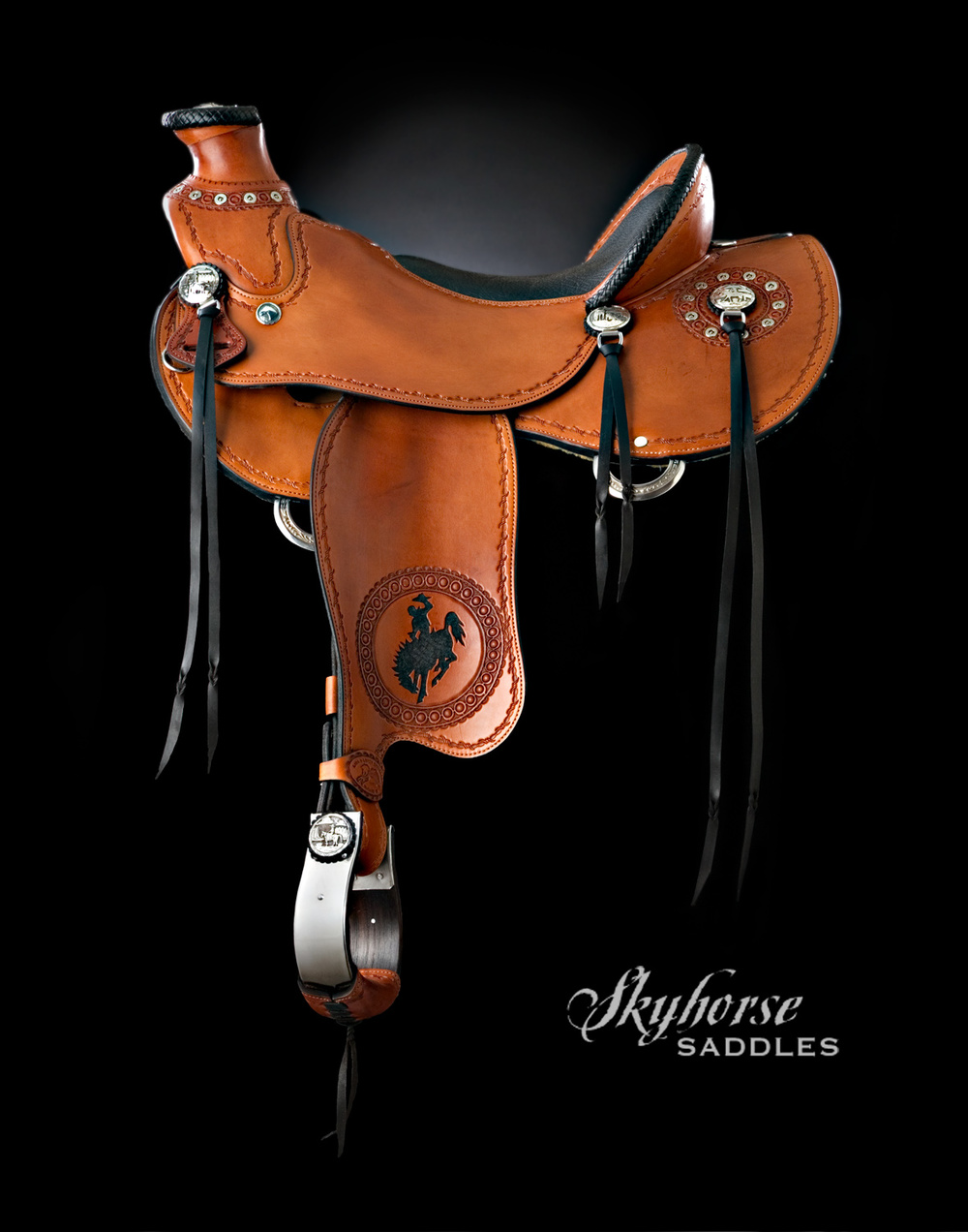 Bucking Bullets Saddle Click to enlarge