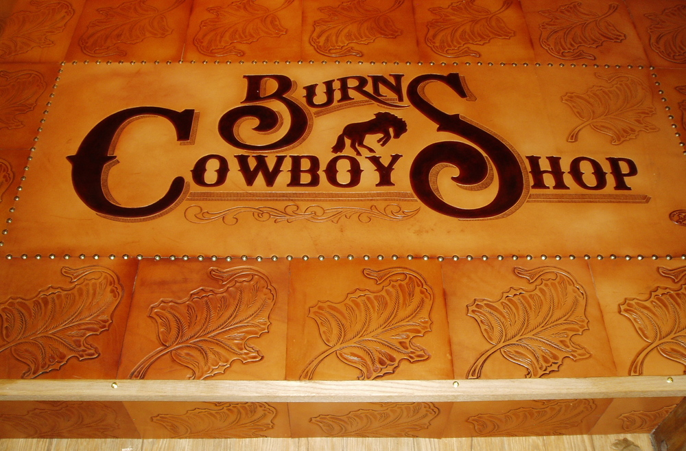 Burns Cowboy Shop - detail