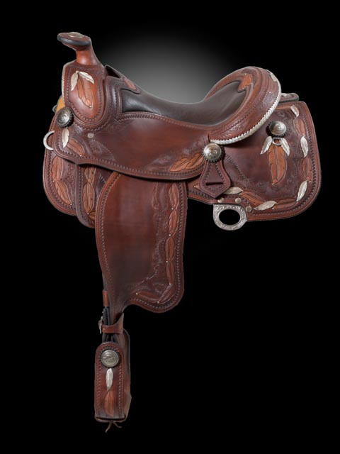 MINI FEATHERS  - Pleasure/Show Saddle