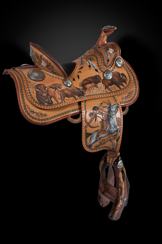 White Buffalo Calf - Skyhorse Saddles