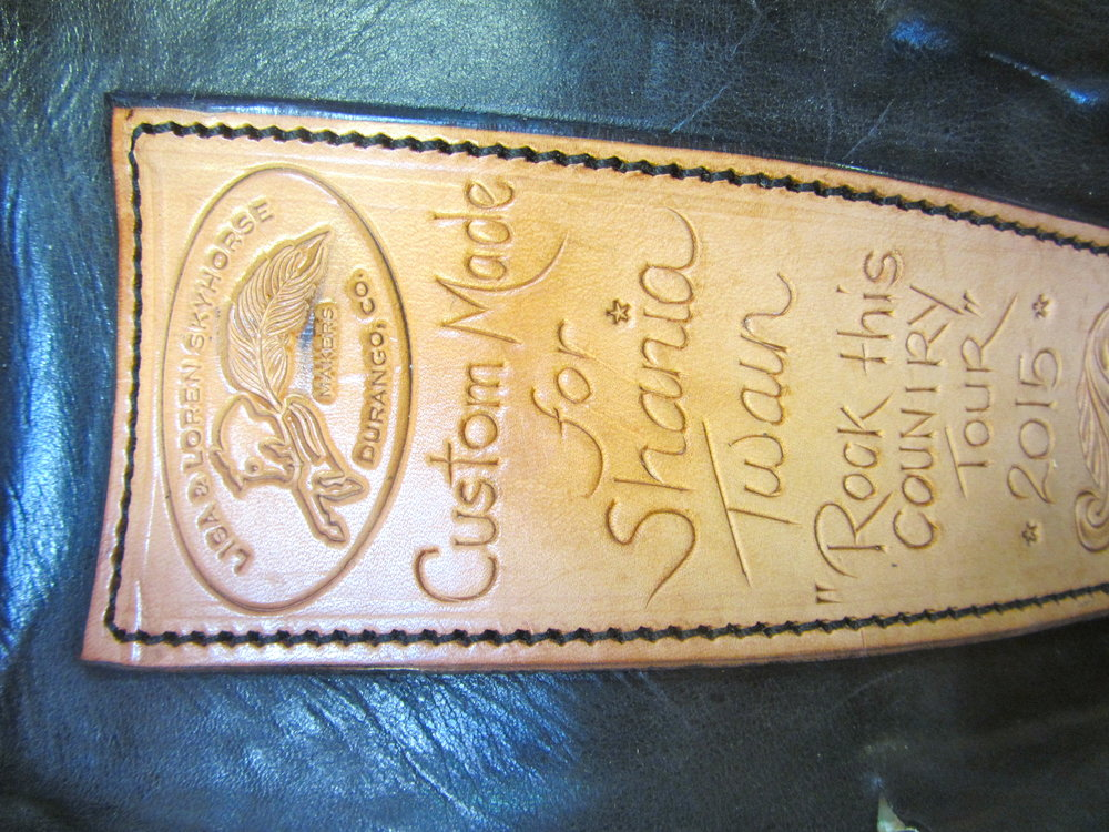 "Skyhorse Saddle - ""Shania Twain's Farewell Tour Saddle"""