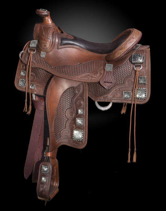 """Handsome Star Saddle"""