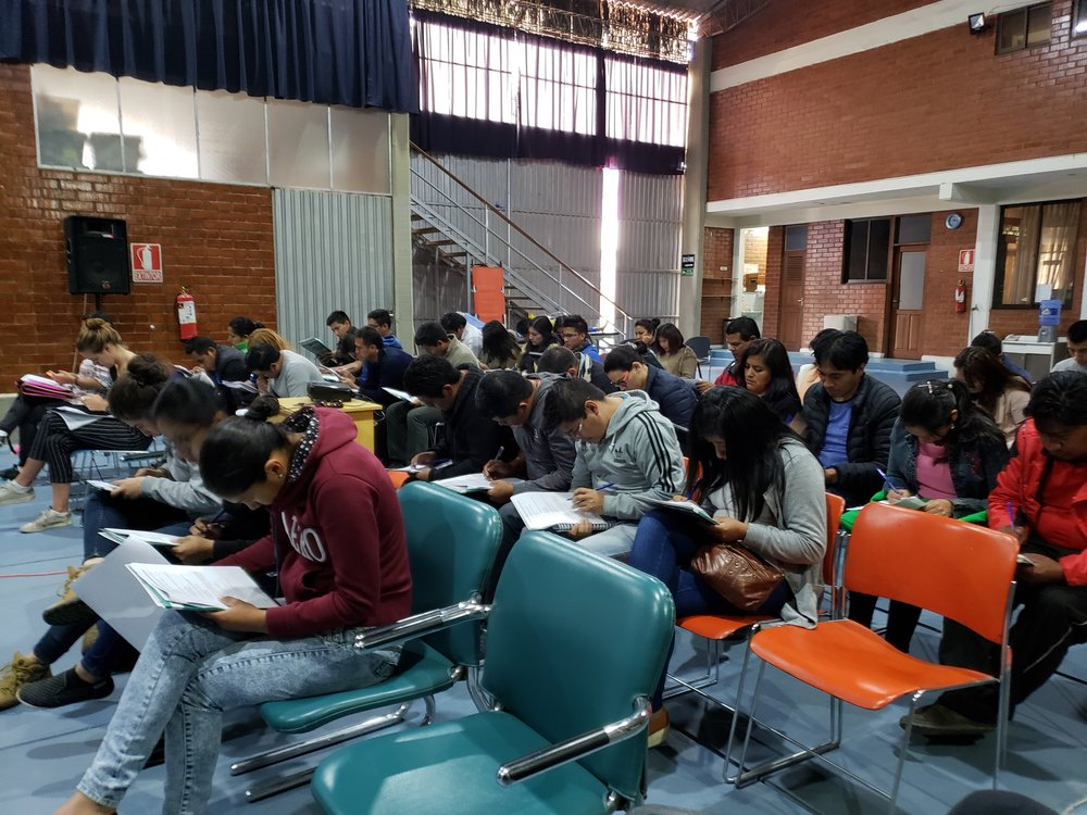 Students take a Pre-test prior to training, and a Post-test at completion of course.