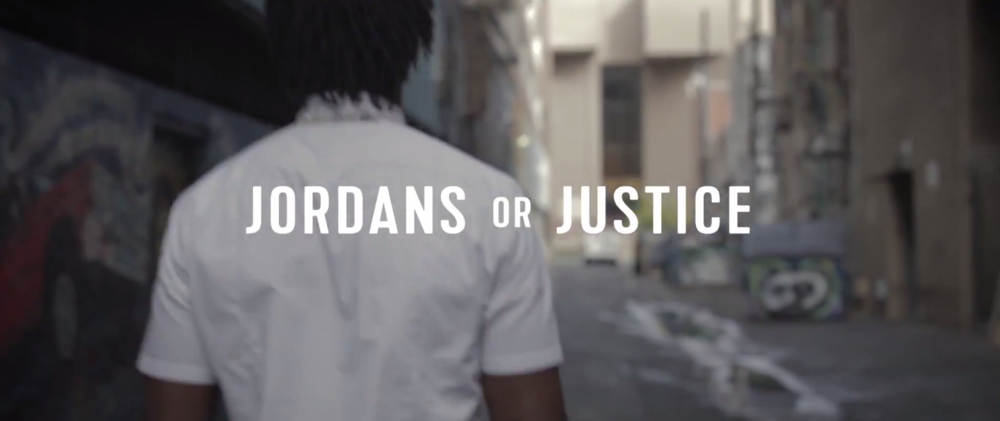 JORDANS OR JUSTICE SPOKEN WORD