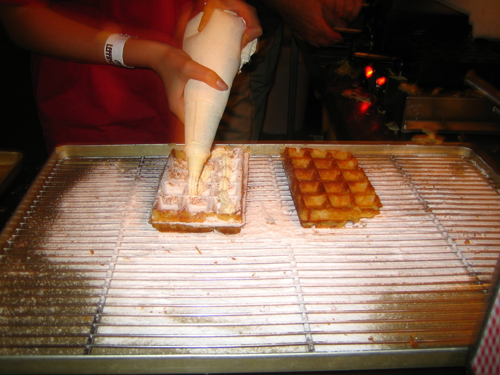 "The just call them ""waffles"" there."