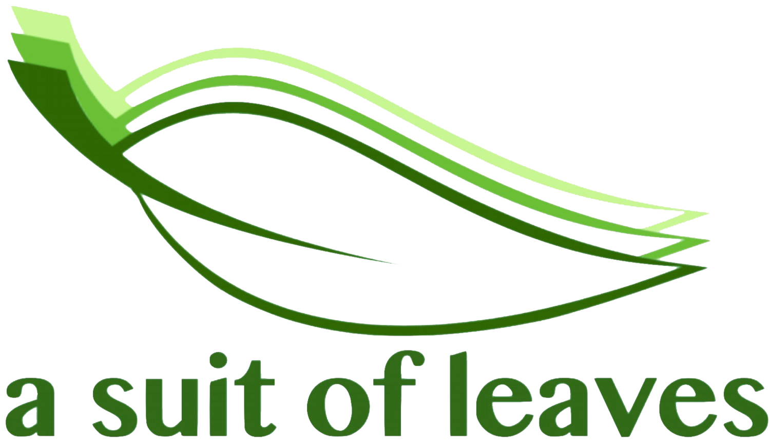 a suit of leaves
