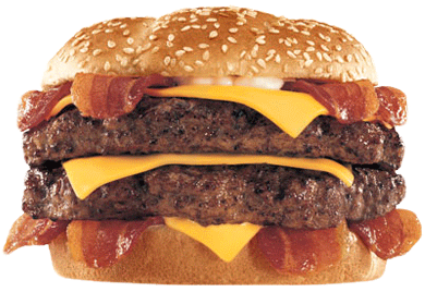 Hardee's Monster Thick-burger