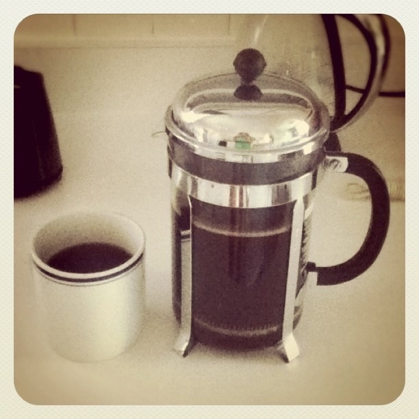 my French press