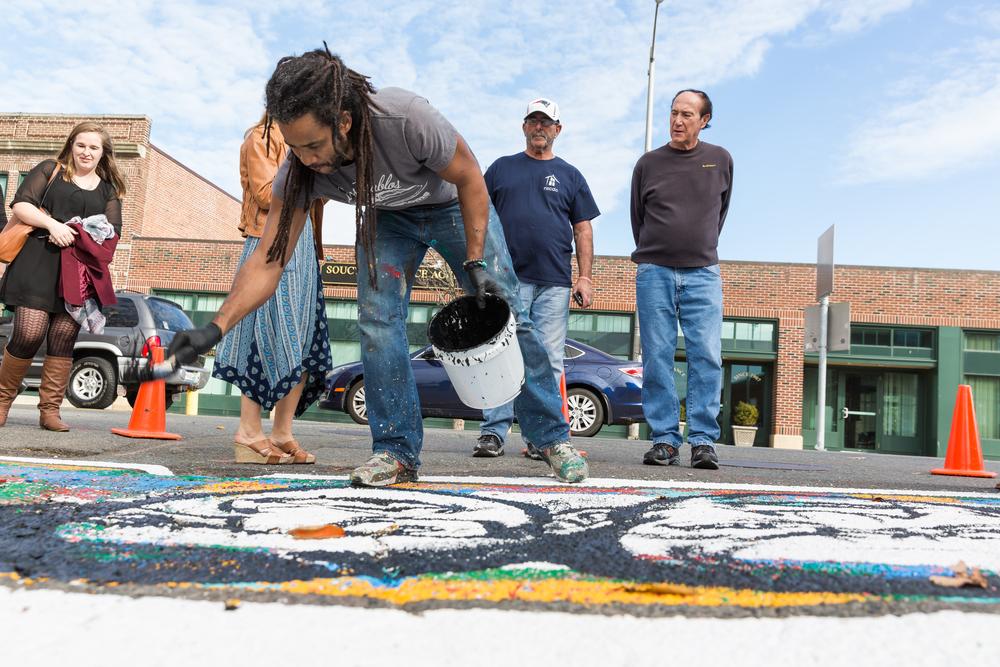 Ruben Ubiera Sidewalk project Salem MA Public Art_0869.jpg