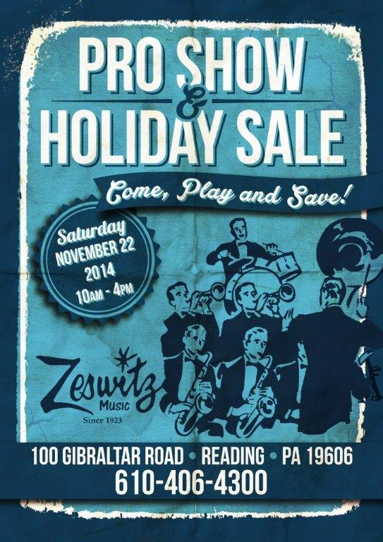 2014 Pro Show and Holiday Sale