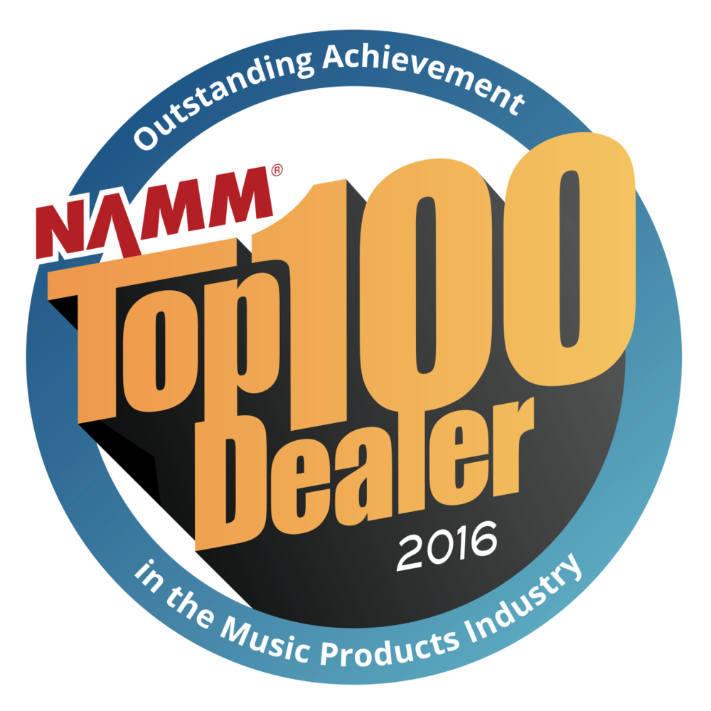Zeswitz Music is Eastern PA's only 2016 NAMM Top 100 Dealer!