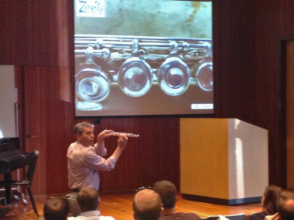 Tom at PMEA District 11 Repair Presentation.jpg