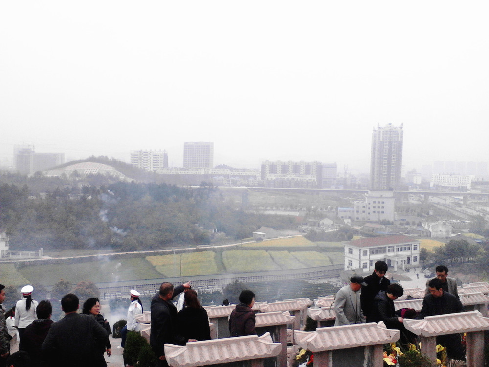 A Modern Chinese Cemetery