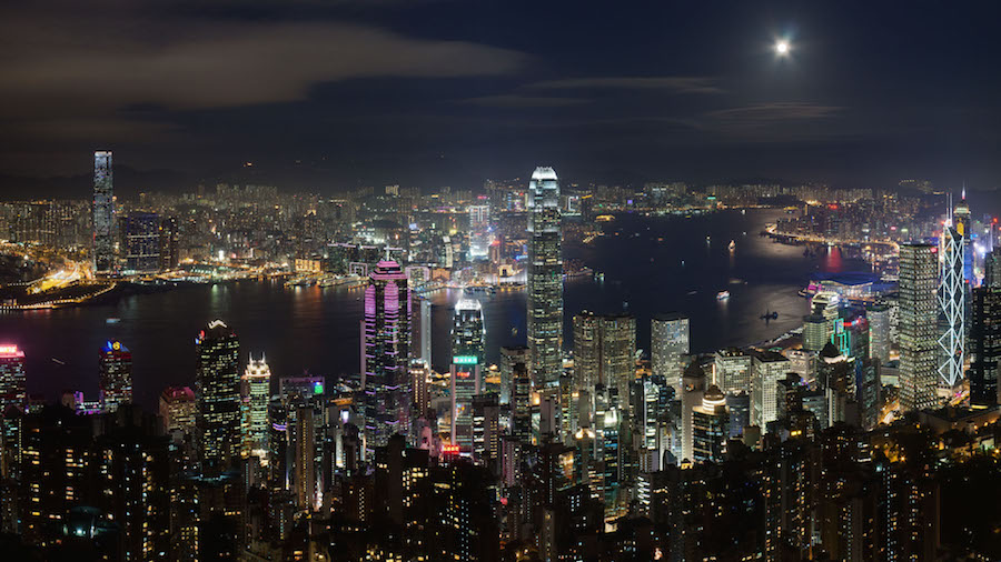 Present Day Hong Kong