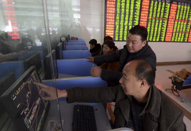 CHINA-STOCKS/CLOSE