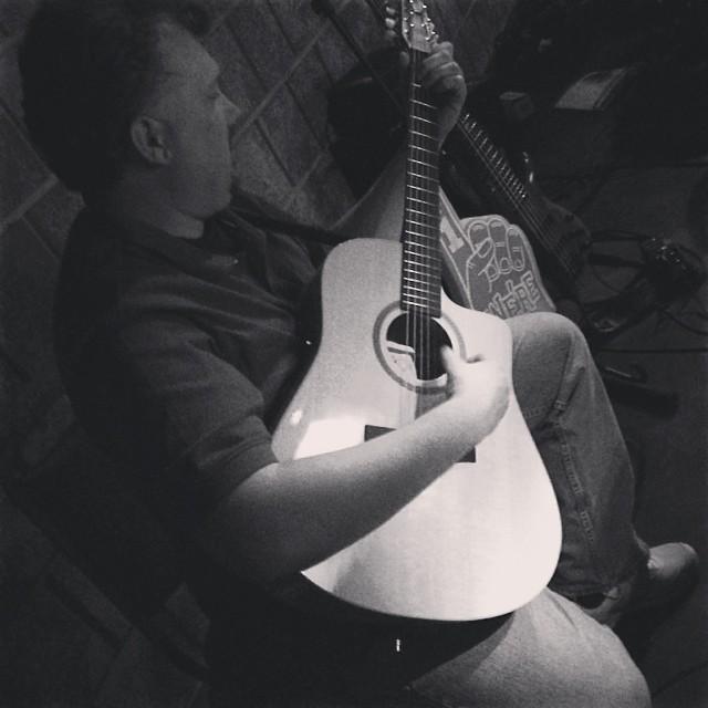 Guitarist Sigurd Hepler
