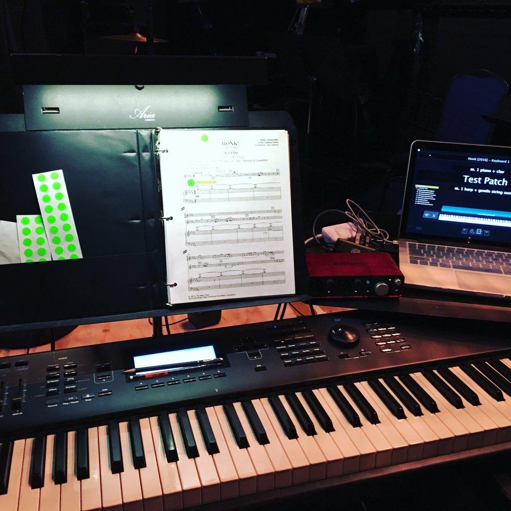 Honk [STAGE] - Keyboard Setup 2.JPG