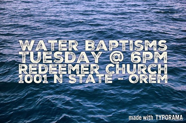 Tomorrow night! Be there as we celebrate with those who have chosen to be water baptized. #xauvu #chialpha #movement