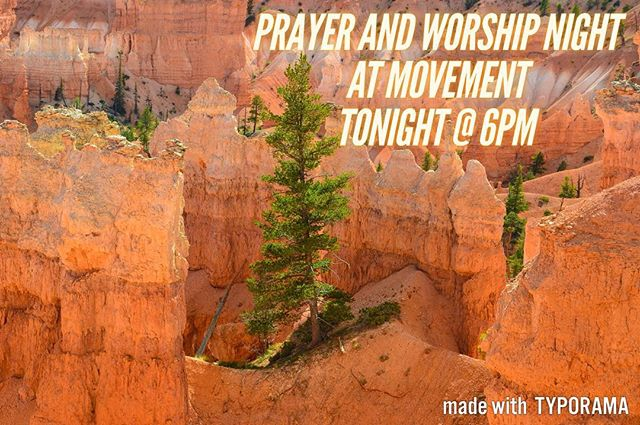 """""""Anyone who is having troubles should pray. Anyone who is happy should sing praises."""" (James 5:13 NCV)  That's the plan for Movement tonight.  Join us as we pray for our campus, the summer, and each other.  #xauvu #chialpha #movement #prayer #worship"""