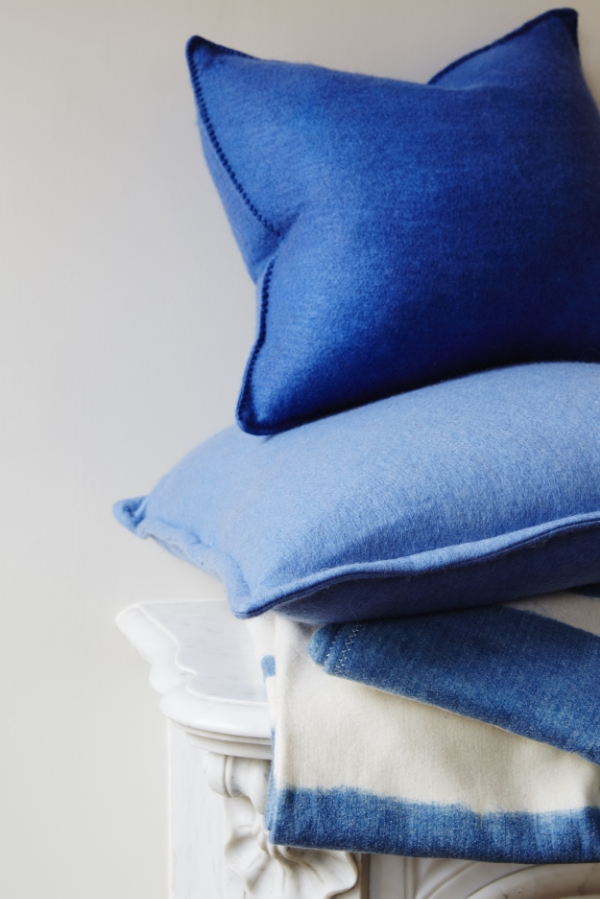 AMERICAN CASHMERE FELTED CUSHION