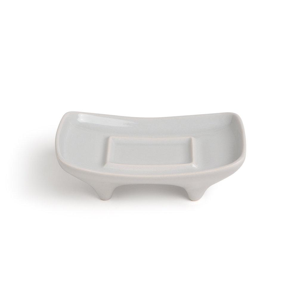 3D Printed Soap Dish - Pearl Grey