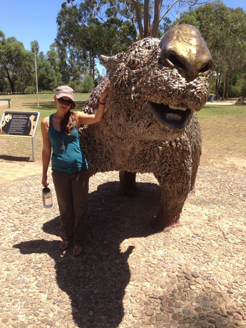 meganesian megafauna  u2014 jenna gersie