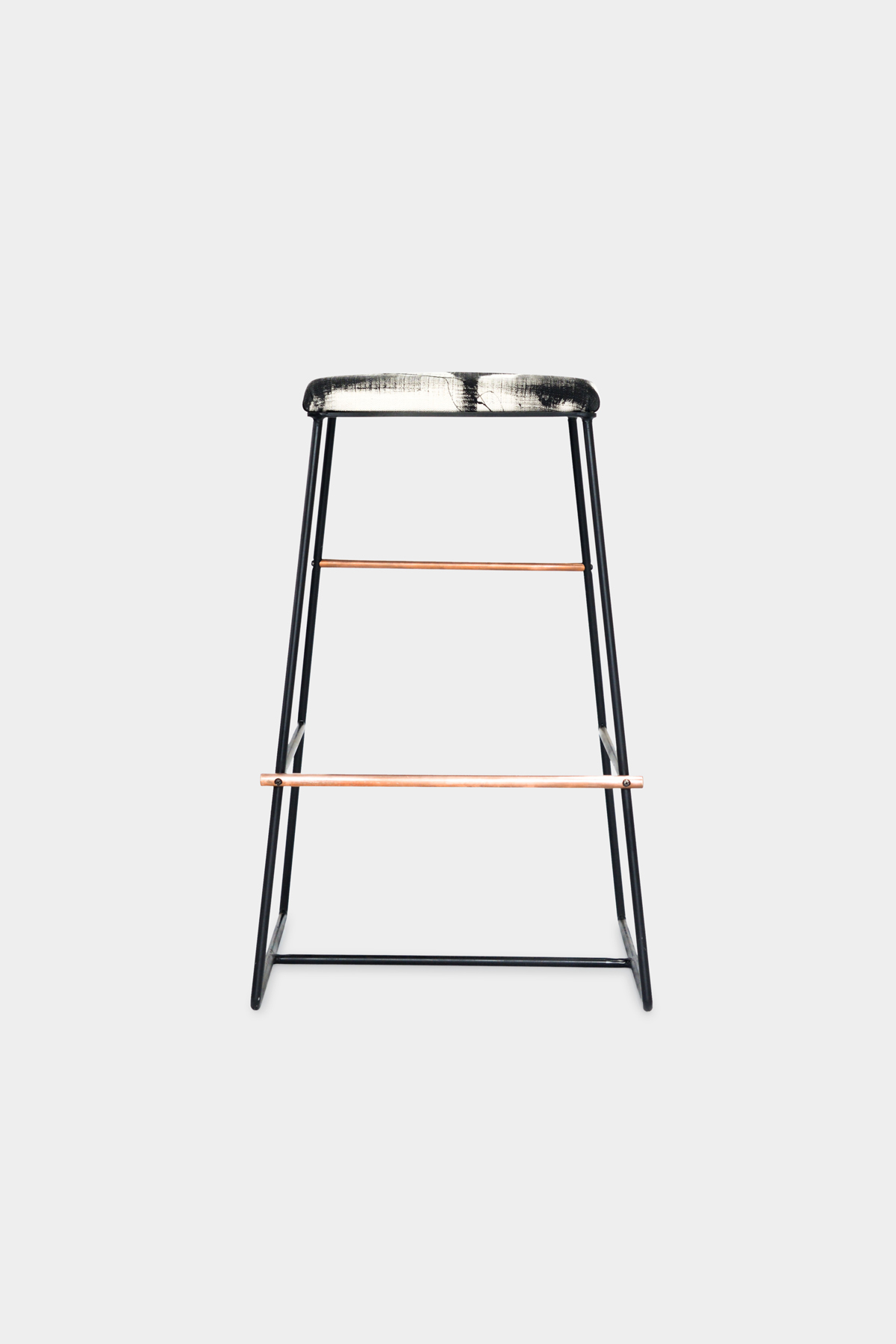 stools bar swatch high stool product metal home living bentley pink