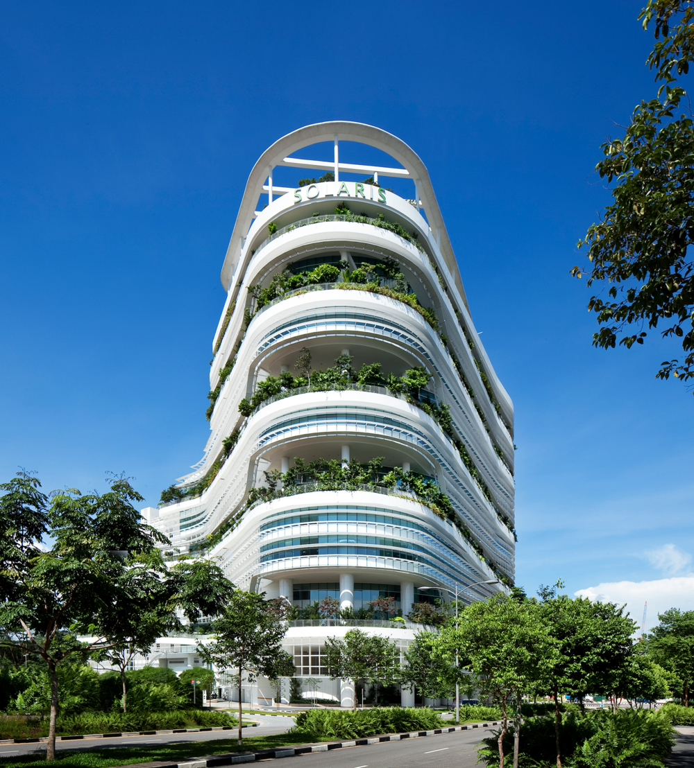 Solaris Singapore - Certified BCA Green mark Platinum Level