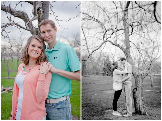 Luverne Minnesota Engagement Session Apple Orchard Sioux Falls Pictures