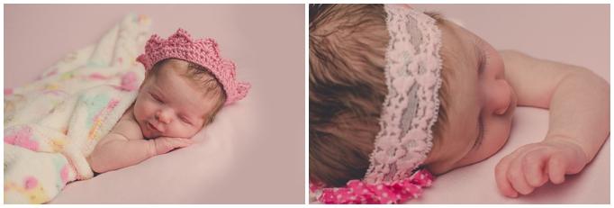 Siouxfallsnewbornphotographers Pink Ruffles Baby Picture Ideas Unique Newborn Portraits Sioux Falls South Dakota Best
